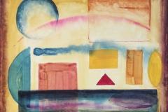 layers painting Jamie St Clair