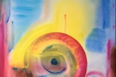 seed painting Jamie St Clair