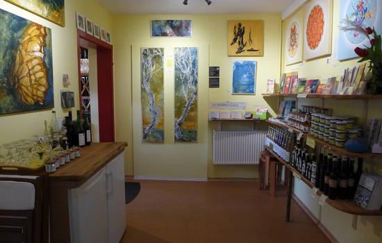 Atmos Bioweine und Galerie